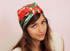 Cahier de vacances – Transformer son foulard en turban on Etsy
