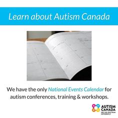 Are you a professional or organization that hosts educational #events on #autism? Submit your event to our calendar for free: http://ift.tt/1MFaKij ------ #AC40 #autismcanada #canada #event #asd #spectrum #ausome #aspergers #autismawareness #autismacceptance #autismparent #autismparents #autismom #autismdad #autismsibling #ilovesomeonewithautism #learn #share #love #support #hope #advocacy #family