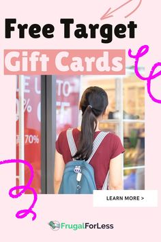 Wondering how to get free target gift cards? Target is a useful shopping center for a wide variety of items, and it's also becoming increasingly popular as a way to buy groceries with their Superstore. Target Gifts, Shop Organization, Minimalist Lifestyle, Shopping Center, Ways To Save Money, Gift Cards, Frugal Living, How To Get, Popular