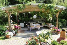 Kukkapenkki puun alle - Kotipuutarha Flower Aesthetic, Aesthetic Images, Visual Memory, Garden Cottage, Flower Images, Flower Wallpaper, Pictures To Draw, Original Image, Fields