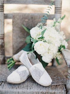 lacy toms wedding shoes @weddingchicks