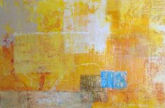 """Sunny"" 24""x36"" original acrylic painting by Caren Goodrich"