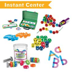 Make the best of center time with Literacy classroom centers by Hatch! #preschool