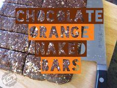 Chocolate Orange Naked Bars  #StupidEasyPaleo