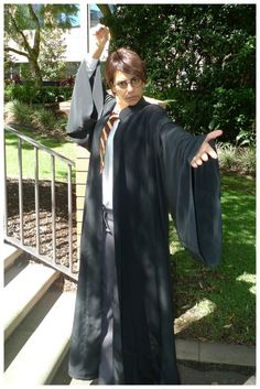 Day 279: International Children's Book Day, Harry Potter costume. Theme Me is a blog that follows a personal challenge to dress to a different theme every day for a whole year.