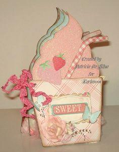 Handmade Strawberry Milkshake Mini Album