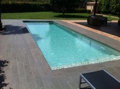 piscina gres porcelanico madera - Buscar con Google