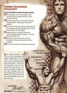 If you are interested consider visiting my Bodybuilding DVD Web site. http://goldenagemusclemovies.com