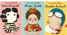 These Little People, Big Dreams books are about the lives of inspiring women whose paths to success were full of tricky turns told in a way that's just right for little kids.