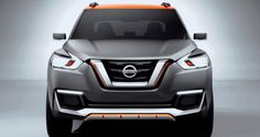 the nissan 'kicks' concept is unveiled at the 2014 sao paulo international motor show and marks the company's second ever brazilian design exploration Nissan Kicks, New Nissan, Nissan Juke, Car Posters, Poster Poster, Compact Suv, Car Brands, Car Manufacturers, New Model