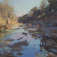 Evensong by Jill Carver Oil ~ 20 x 20