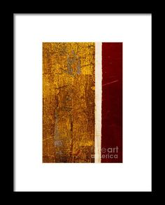 Trademark Fine Art Gold Flakes Canvas Art by Claire Doherty, White Matte, Black Frame, Size: 11 x Orange Framed Art, Framed Prints, Art Prints, Prints For Sale, Clear Acrylic, Claire, Fine Art America, Art Pieces, Canvas Art