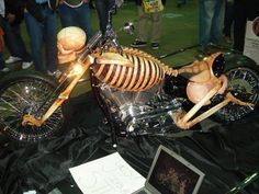 bones bike - Love this paint job!
