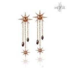Shop Ice Diamond #ChandelierEarrings @Mettlle.com