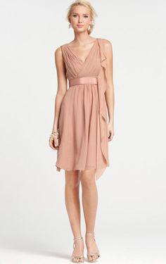 blush dress under 100