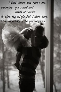 I don't dance by lee brice.... This is so sweet