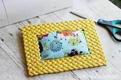 Pin Cushion from Picture Frame