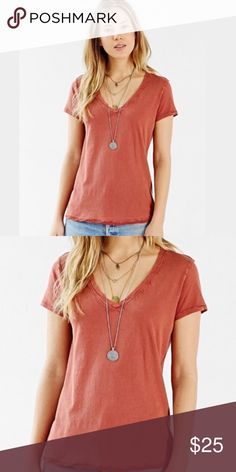 ❗️1 LEFT Urban Outfitters Burnt Orange Tee! NWT ❗️LAST CHANCE❗️Urban Outfitters BDG burnt orange tee! NWT size medium. Make an offer! Selling to first reasonable offer i receive! Or enjoy 30% off bundles! Take advantage of my Fall CLEANOUT sale! Asap shipping :-) Urban Outfitters Tops