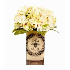 Creative Displays, Inc. Spring Additions Hydrangea Bee Vase