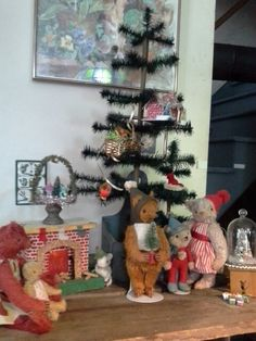 The Teddy Bears' Christmas featuring Jennifer Murphy bears from my personal collection...