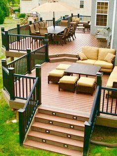4 Tips To Start Building a Backyard Deck | Backyard deck designs ...