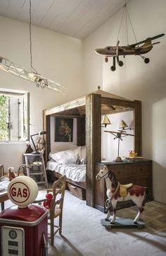 une chambre 100#recup, brocante , braderie  , ce coté rétro on adore !!: