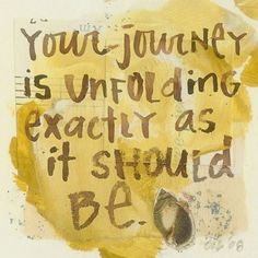 Your journey.