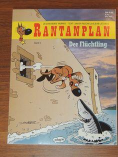 Rantanplan Band #5 Der Flüchtling (Ehapa Verlag) Western Comics, Bd Lucky Luke, Morris, Album, Westerns, Comic Books, Animation, Classic, Funny