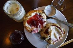 Cream Tea at romantic, dog friendly and family friendly Ox Pasture Hall Hotel, near Scarborough,Yorkshire