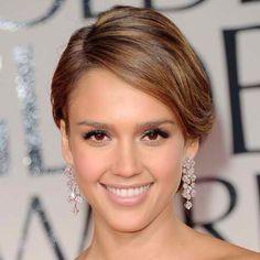 Golden Globes 2012 Red Carpet makeup: Jessica Alba