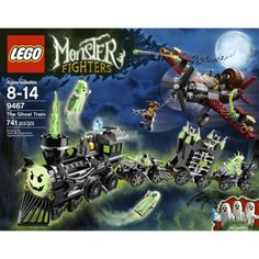 LEGO Monster Fighters The Ghost Train 9467   Last one of this set that they both love.