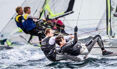 German Team, 49er category at Sailing world championship!