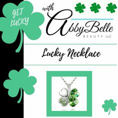 Lucky Necklace 😍 - http://affiliate.abbybelle.com/krista