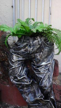 Tokreen broek vir potplant - Hilma Nel