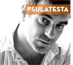 Tributo a Kostas Vaxevanis, giornalista greco arrestato per aver diffuso la lista di 2059 cittadini del suo Paese che hanno depositato soldi in Svizzera evadendo il fisco. @ricominciadate #sulatesta