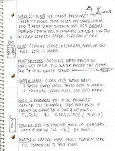 The Lost Sock : Art Class Journaling