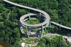 Kawazu Nanadaru Loop Bridge - Japan