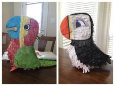 Puffin Rock party piñata