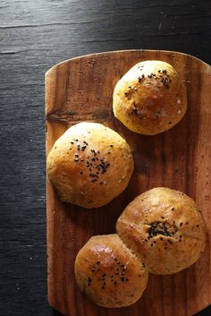 Pepper Spiced Bread Roll