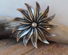 N. E. From Denmark. Brooch in sterling silver. by RetroStilig