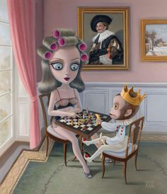 Check Mate – 2014 - The Xue Wang Collection - Art - Castle Galleries