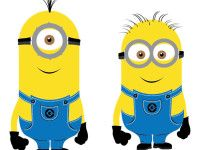 Despicable Me 2 Minions Vector - Free Vector Site | Download Free Vector Art, Graphics