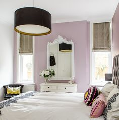Pink bedroom by Honey Bee Interiors