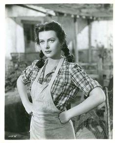 "Train Bellies: John Garfield and Hedy Lamarr in ""Tortilla Flat"""