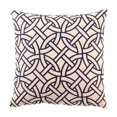 I pinned this Circle Link Pillow in Navy from the D.L. Rhein event at Joss & Main!