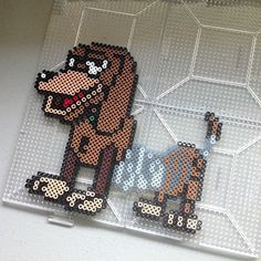 Slinky Toy Story hama perler beads by christina_eats