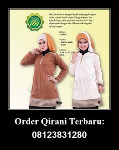 Qirani Blouse Model 161, Hubungi : HUBUNGI :  Whatsapp : +62 812-3831-280  SMS : +62 812-3831-280 BBM : 5F03DE1D