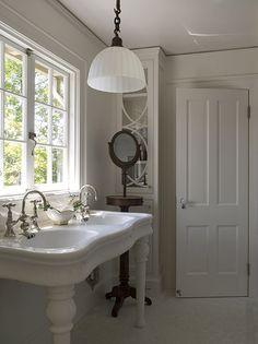 Double Pedestal Sink.
