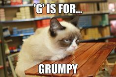 g is for grumpy