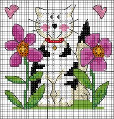 Small cross stitch patterns by Lesley Teare Cat Cross Stitches, Counted Cross Stitch Patterns, Cross Stitching, Cross Stitch Embroidery, Small Cross Stitch, Cross Stitch Animals, Cross Stitch Flowers, Cross Stitch Freebies, Cross Stitch Boards
